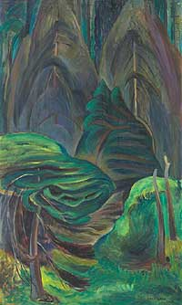 Emily Carr - Quiet - Image courtesy of www.Heffel.com
